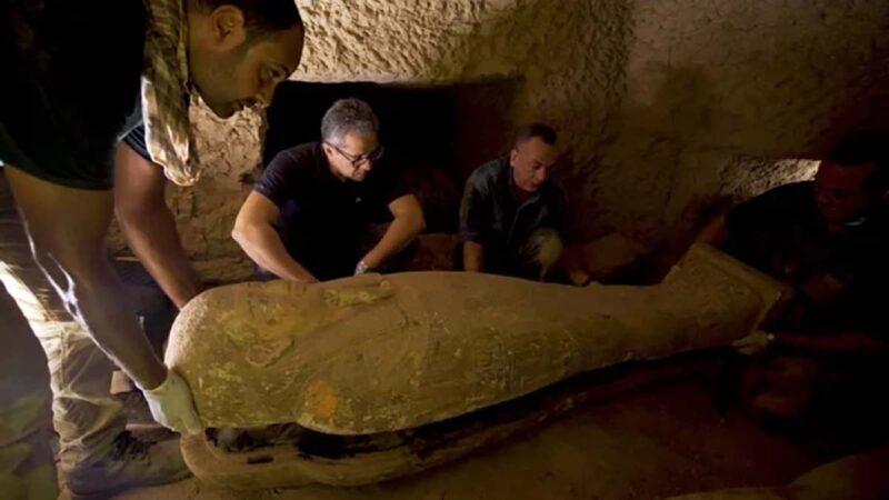 Mısır 2500 yıllık tabutlar