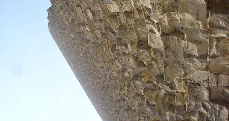 Mısır Piramitleri Taş Duvar