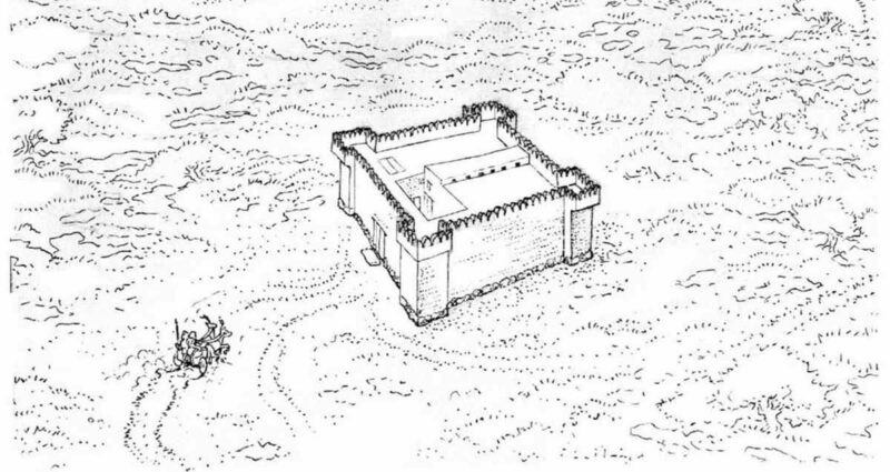 Mısır Yapımı 3.200 Yıllık Galon Kalesi