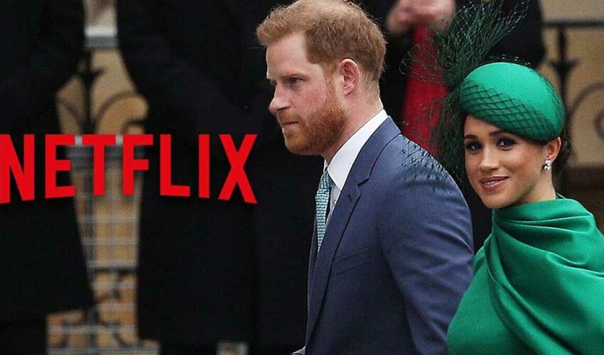 Netflix Prens Harry Meghan Markle