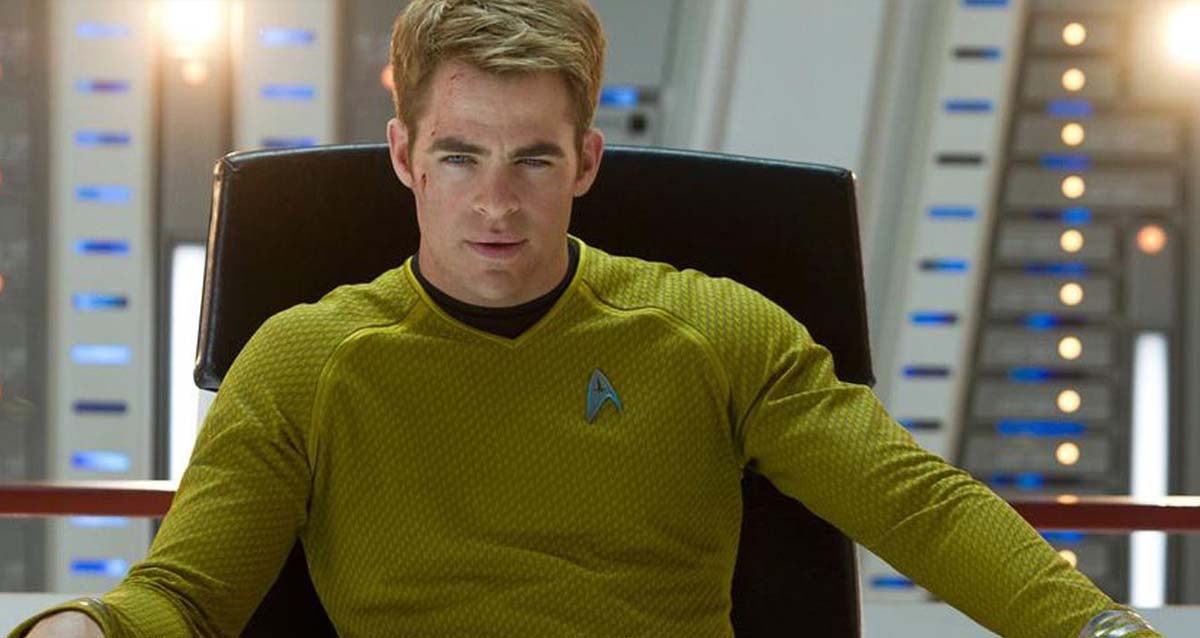 star trek chris pine