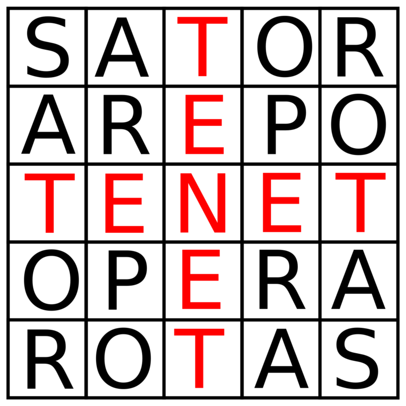 Tenet SATOR