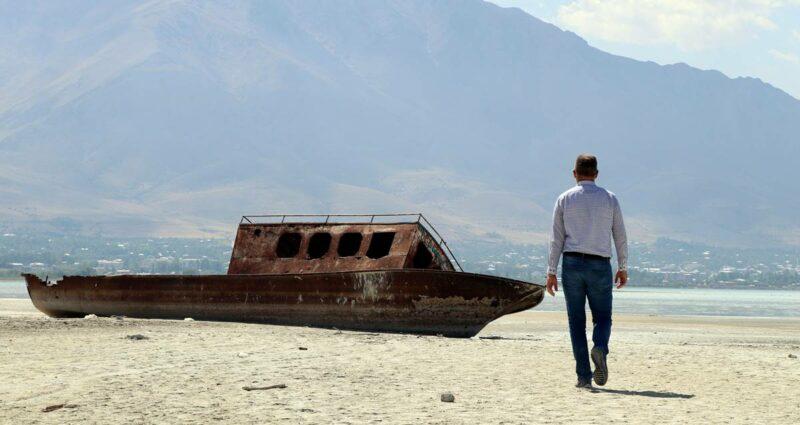 Van Gölü Su Seviyesi Düşüş