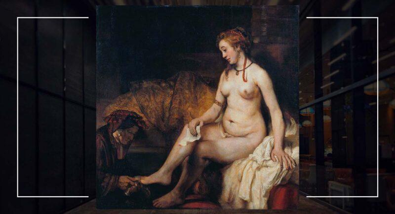 Banyosunda Betşeba - Rembrandt