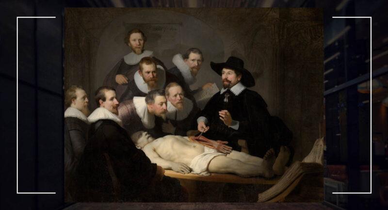 Dr. Nicolaes Tulp'un Anatomi Dersi (1632)