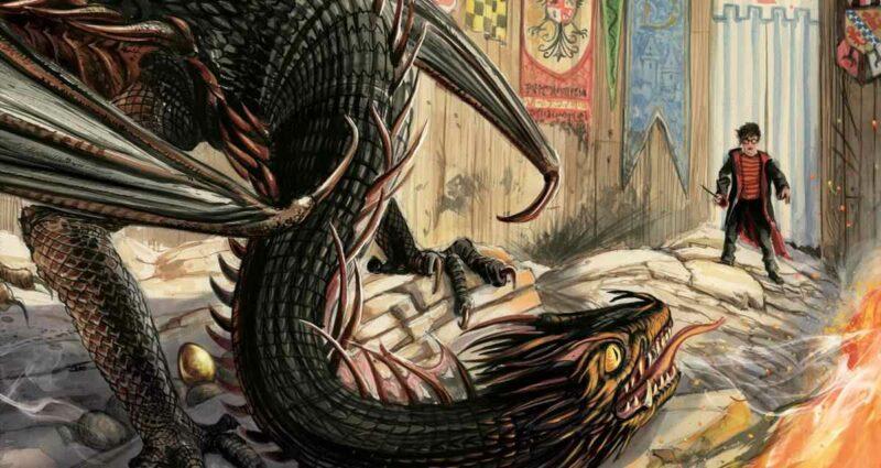 Harry Potter ve Ateş Kadehi Resimli Özel Baskı - Jim Kay