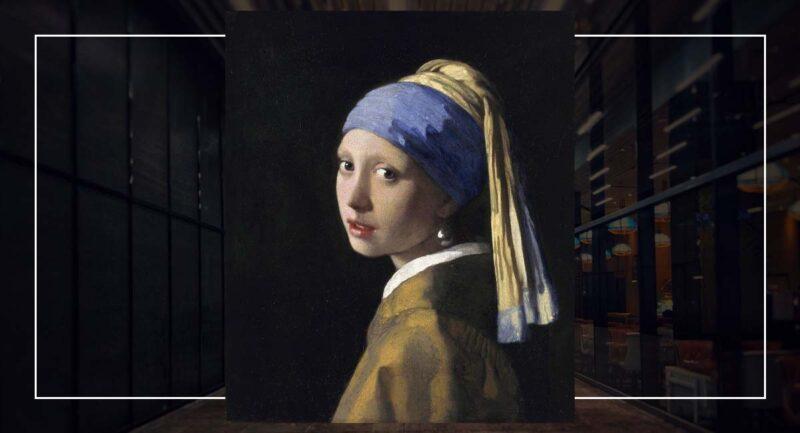 İnci Küpeli Kız - Johannes Vermeer