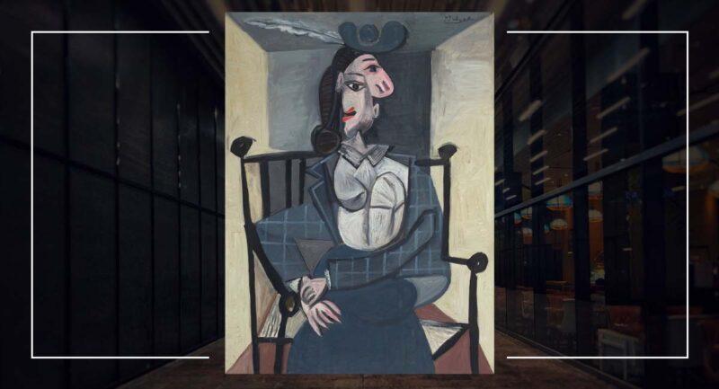 Pablo Picasso (1881-1973), Femme dans un fauteuil, 1941