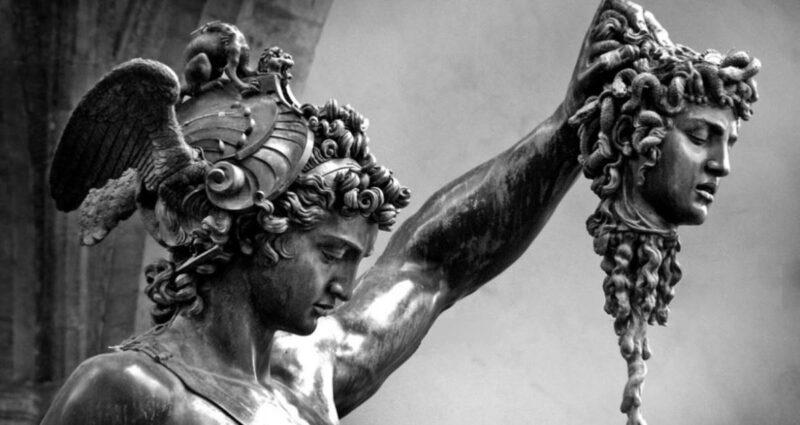 Perseus with the Head of Medusa, Benvenuto Cellini