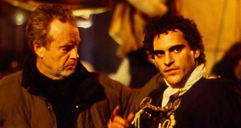 Ridley Scott Joaquin Phoenix Napoleon Kitbag film