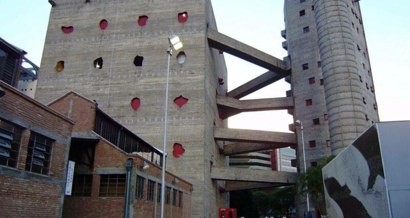 SESC Pompeia, Sao Paulo Brütalist Mimari