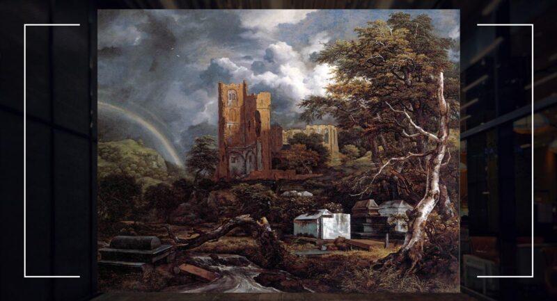 Yahudi Mezarlığı - Jacob van Ruisdael (1650)