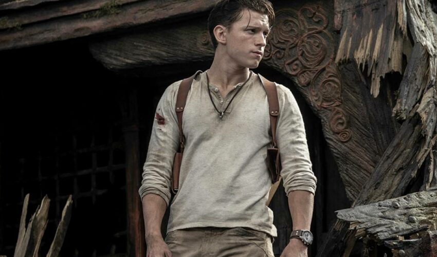 Uncharted Tom Holland Nathan Drake