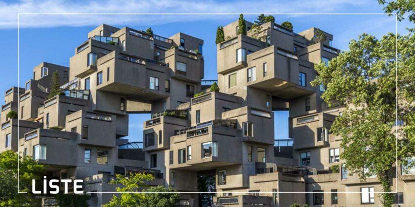 Brütalist Mimari Örnekleri Nedir