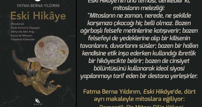 Eski Hikâye - Fatma Berna Yıldırım | Haftanın Kitabı #152