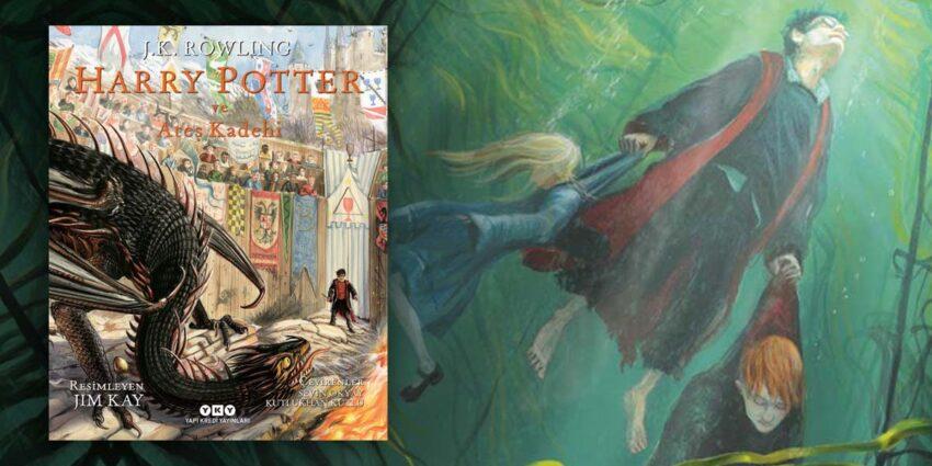 Harry Potter ve Ateş Kadehi Resimli Özel Baskı