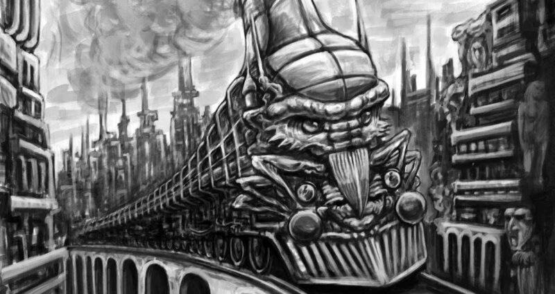 hayalet tren oyku