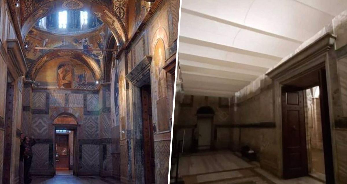 Kariye Müzesi Cami Fresk Mozaik