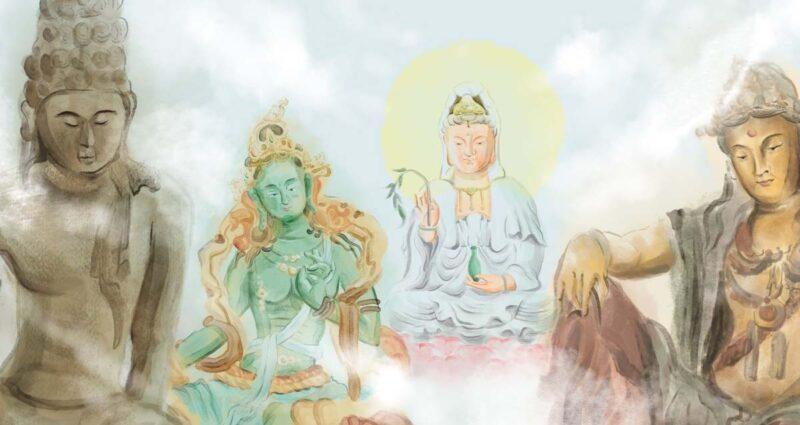 kwan yin Çin Mitolojisi
