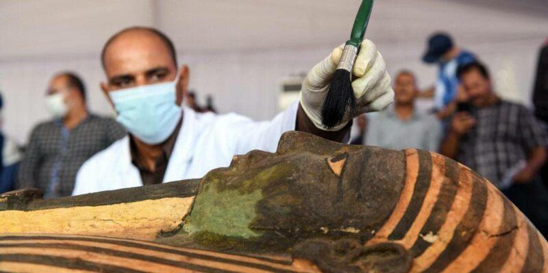 Mısır Yeni Rahip Mumyaları