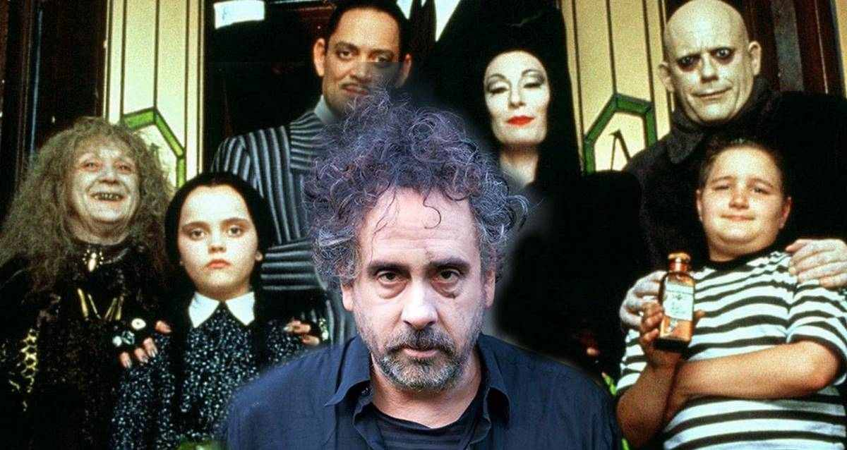 The Addams Family Dizisi Tim Burton
