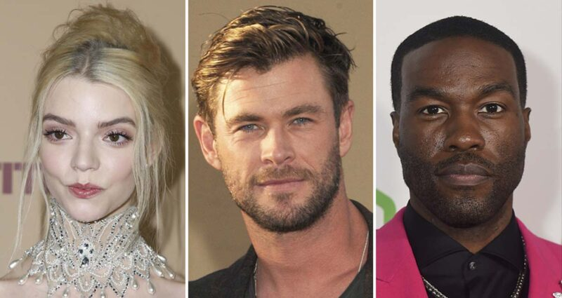 Yeni Mad Max Filmi Anya Taylor-Joy, Chris Hemsworth Yahya Abdul-Mateen II