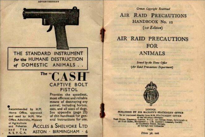 2. Dünya Savaşı Evcil Hayvanlar