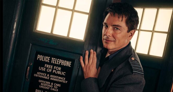 Doctor Who Captain Jack Harkness