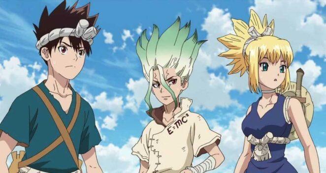 Dr. Stone 2. sezon Bilimkurgu anime önerileri