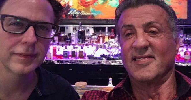 James Gunn Sylvester Stallone