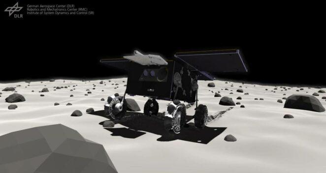 Mars Uydusu Phobos Rover