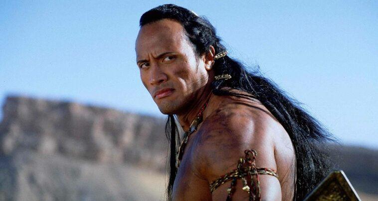 The Scorpion King Dwayne Johnson Akrep Kral