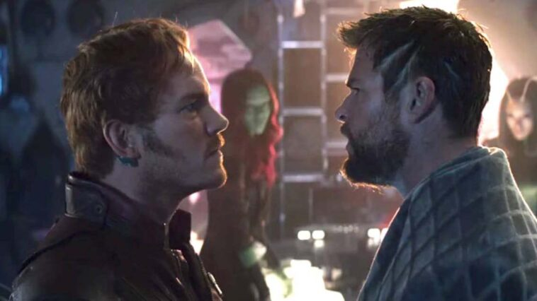 Thor guardians of the galaxy