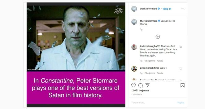 constantine 2 instagram