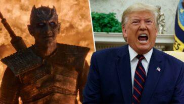 donald trump night king game of thrones