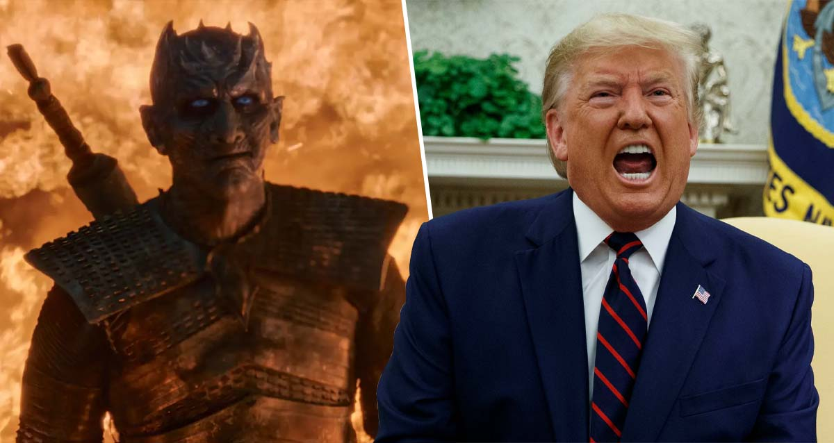 donald trump night king game of thrones