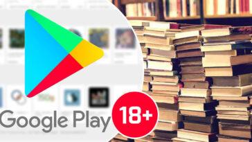Google Play Store Kitaplar 18+