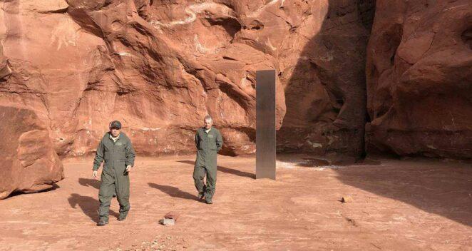 ABD Çöl Monolit 2001 A Space Odyssey