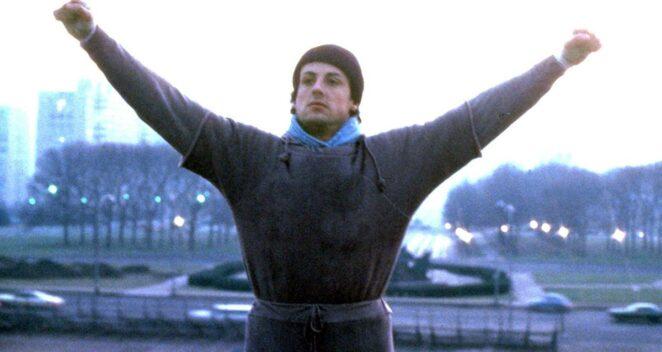 Rocky Koşu Sahnesi