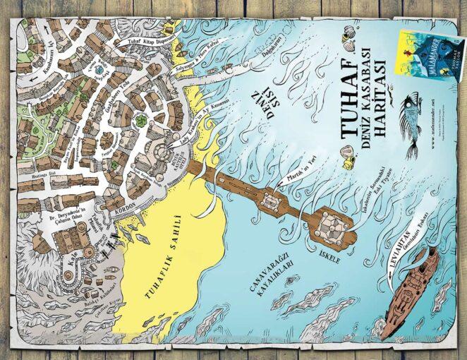 Tuhaf Deniz KasabasıHaritası