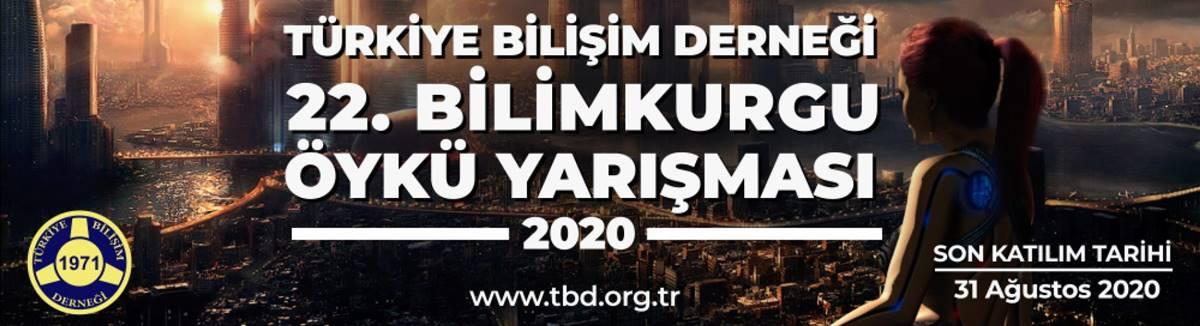 Türkiye Bilişim Dergisi 2020 Bilimkurgu Öykü Yarışması