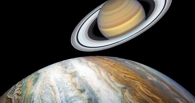 21 Aralık 2020 Jüpiter Satürn En Uzun Gece