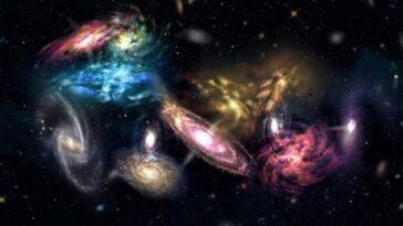 3 milyon galaksi