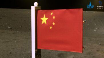 Çin Ay Bayrak Change-5