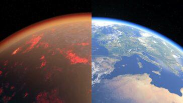Dünya Venüs Benzer Kıyas Atmosfer