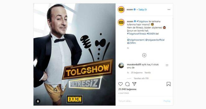 tolgshow exxen