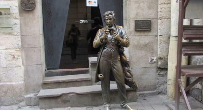 Leopold von Sacher-Masoch heykeli