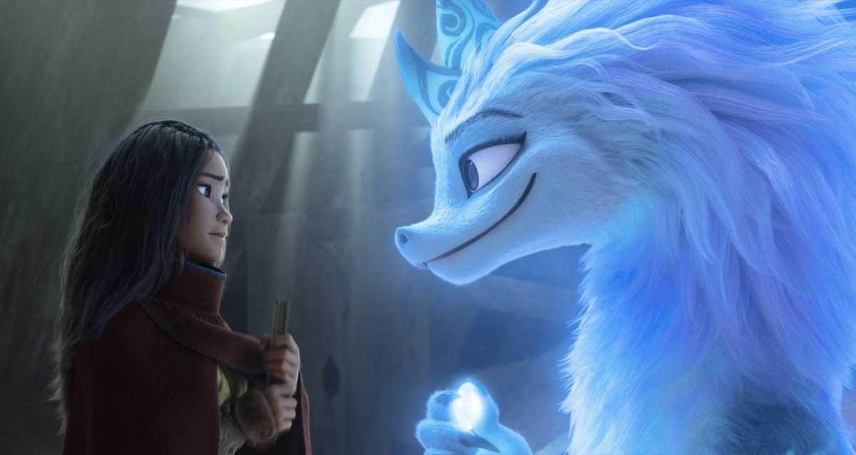 Raya and the Last Dragon fragmanı