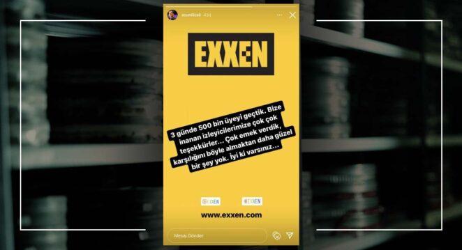 Exxen Abone Sayısı