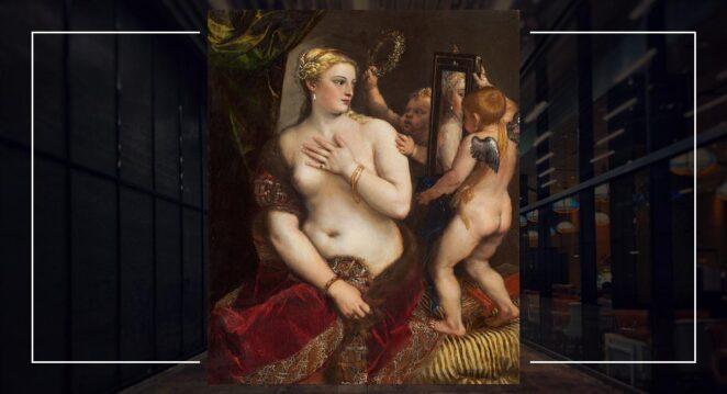 Aynalı Venüs - Titian